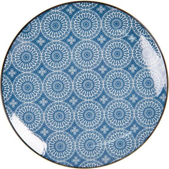 blauw bord
